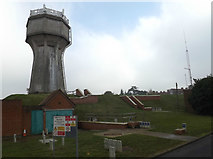 TM1645 : Elsmere Road Water Tower & Works by Adrian Cable