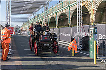 TQ3103 : Just past the Finishing Line, Madeira Drive, Brighton, East Sussex by Christine Matthews