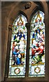 SH7882 : Stained glass in the chancel (4 of 5) by Gerald England