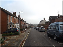 TM1645 : Hervey Street, Ipswich by Adrian Cable