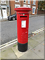 TM1644 : Christchurch Post Office George VI Postbox by Geographer