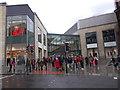 SE1633 : Broadway Centre - Market Street entrance by Betty Longbottom