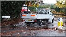 SX9065 : Creating a splash, Teignmouth Road, Torquay by Derek Harper