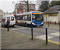 SO2800 : X33 bus for Abergavenny in Hanbury Road, Pontypool by Jaggery