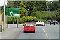 TG2512 : Wroxham Road Approaching the Blue Boar Roundabout by David Dixon