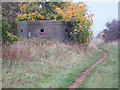SK9954 : Pillbox, High Dike by Andy Stephenson
