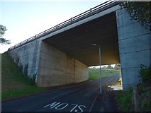 NS3879 : Underpass on Overton Road by Lairich Rig