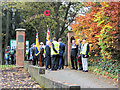 SP9211 : The Remembrance Day Procession at Tring (1) by Chris Reynolds