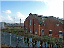 TQ2182 : Locomotive sheds and yard, Old Oak Common by Robin Webster