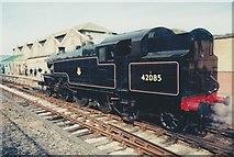 SD3787 : 42085 at Lakeside Station by Richard Sutcliffe