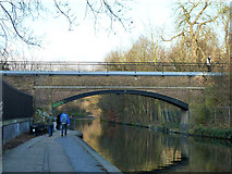 TQ2783 : Bridge 8, Regent's Canal by Robin Webster