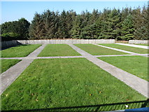 J3652 : New cemetery extension at St Patrick's Catholic Church, Ballynahinch by Eric Jones