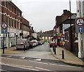 SJ6910 : Oxford Street, Oakengates, Telford by Jaggery