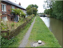 SP6165 : Anchor Cottage on the Grand Union Canal by Mat Fascione