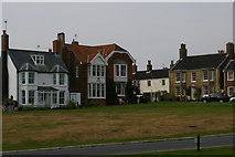 TM5075 : Houses on Constitution Hill, Southwold by Christopher Hilton