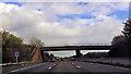 ST0104 : Over bridge near Westcott by John Firth