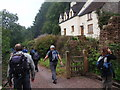 SO3005 : Llwybr Pen y Stair Footpath by Alan Richards