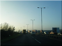 NZ5120 : A66 at North Ormesby by Colin Pyle