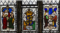 SK9771 : Stained glass window, St Benedict's church, Lincoln by Julian P Guffogg