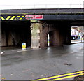 SJ6910 : Mid 19th century railway bridge, Bridge Street, Oakengates, Telford by Jaggery