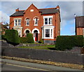 SJ5441 : Late Victorian semi-detached houses, Station Road, Whitchurch, Shropshire by Jaggery