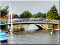 TG3018 : Wroxham Bridge by David Dixon