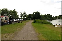 TQ1673 : The Thames Path in Ham by Steve Daniels