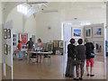 SP9209 : The Bucks Open Studios Exhibition in Hastoe Village Hall by Chris Reynolds