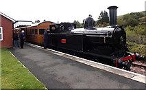SO2508 : Webb Coal Tank at Blaenavon (High Level) railway station by Jaggery