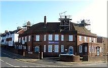 TQ3303 : Whitehawk Inn, Whitehawk Road, Whitehawk, Brighton by Simon Carey
