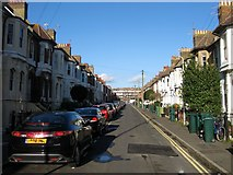 TQ3303 : Rugby Place, Kemp Town, Brighton by Simon Carey