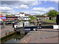SO8071 : Lock and Lower Basin at Stourport Worcestershire by Roger  Kidd