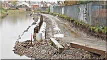 J3674 : Connswater path works, Belfast - November 2015(6) by Albert Bridge