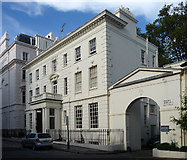 TQ2879 : Lowndes House, Lowndes Place by Stephen Richards
