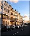 TQ3303 : Sussex Square, Kemp Town, Brighton by Simon Carey