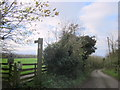 SO9564 : Hanbury Public Footpath and Stile by Roy Hughes