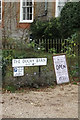 TM0533 : The Duchy Barn signs by Adrian Cable