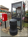 TM0532 : Telephone Box & Forge Street Postbox by Adrian Cable
