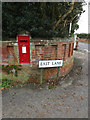 TM0532 : Castle Hill Postbox by Adrian Cable