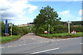 SX9177 : Turning for Milton Hill and Ashcombe off the B3192 at Colley Lane Cross by Robin Stott