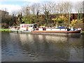 TQ1079 : Cornelia, of Delft, barge on Bull's Bridge moorings by David Hawgood