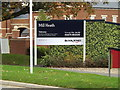 TM2446 : Mill Heath sign by Adrian Cable