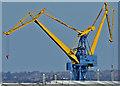 J3676 : Harland & Wolff cranes, Belfast (April 2015) by Albert Bridge