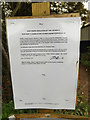 TM2446 : Temporary Footpath Closure Notice by Geographer