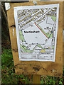 TM2446 : Footpath Diversion Map by Adrian Cable