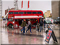 SJ8097 : Big Red Bus Bar on Lowry Plaza by David Dixon