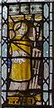 SK9272 : Stained glass window,  St Lawrence's church, Skellingthorpe by Julian P Guffogg
