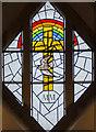 SK9272 : Millennium window,  St Lawrence's church, Skellingthorpe by Julian P Guffogg