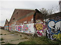 TA1031 : Tagged buildings by Jonathan Thacker