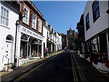 TQ9220 : Lion Street, Rye by Jonathan Billinger